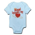 Miguel Lassoed My Heart Infant Bodysuit