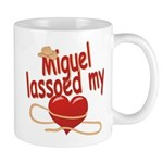 Miguel Lassoed My Heart Mug