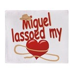 Miguel Lassoed My Heart Throw Blanket