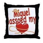 Miguel Lassoed My Heart Throw Pillow