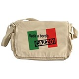 Italian Shipwreck - flag Messenger Bag