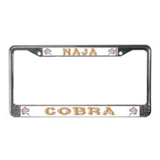Cobra Nest License Plate Frame