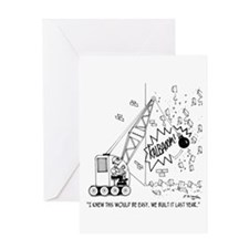 Easy Demolition Greeting Card