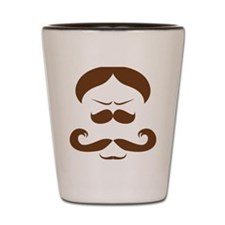 Mister Moustache Shot Glass