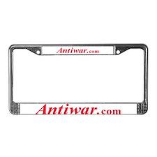 Antiwar.com License Plate Frame