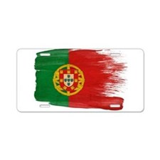 Portugal Flag Aluminum License Plate