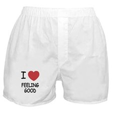I heart feeling good Boxer Shorts