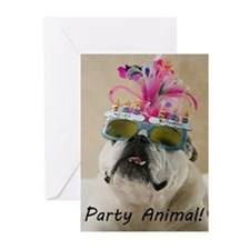 Party Animal Greeting Cards (Pk of 20)