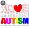 I love my autistic friend Puzzle