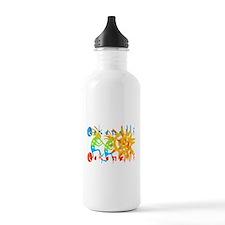 Colorful Kokopelli Water Bottle