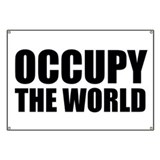 Occupy The World Banner
