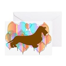 Wirehair Dachshund Valentine Cards (Pk of 10)