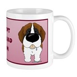 St. Bernard Mom Small Mug