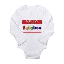 Cute Name kids Long Sleeve Infant Bodysuit