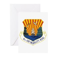 6th Air Mobility Wing Greeting Cards (Pk of 10)