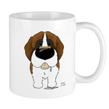 St. Bernard Valentine Mug