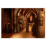 Interior of Buena Vista Wine Caves Sonoma CA
