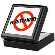 No Kvetching Keepsake Box