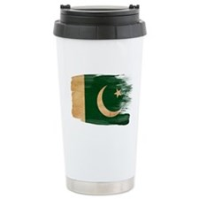 Pakistan Flag Ceramic Travel Mug
