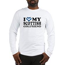 I Love My Scottish Girlfriend Long Sleeve T-Shirt
