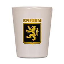 """Belgian Gold"" Shot Glass"