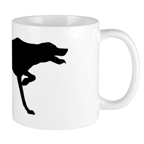 Pointer Silhouette Mug