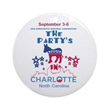 Democratic Convention Ornament (Round)