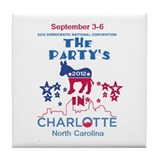 Democratic Convention Tile Coaster