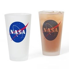 NASA Drinking Glass