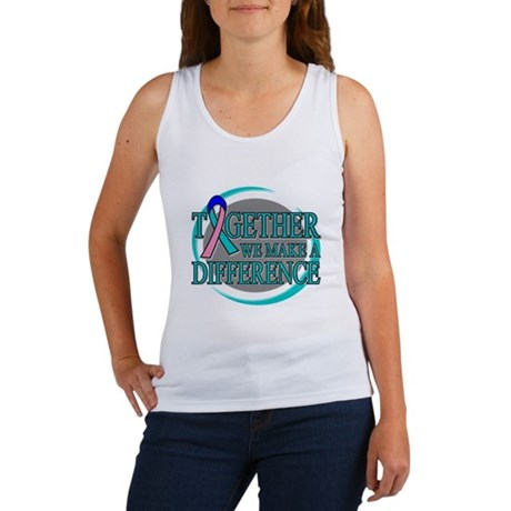 Thyroid Cancer Support Women's Tank Top