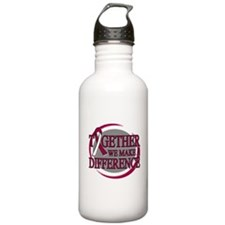 Throat Cancer Support Water Bottle