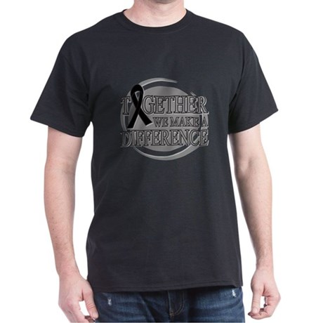 Skin Cancer Support Dark T-Shirt