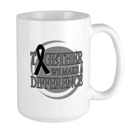 Skin Cancer Support Large Mug