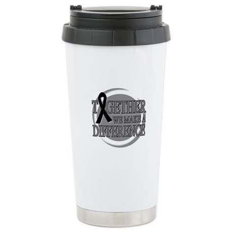 Skin Cancer Support Ceramic Travel Mug