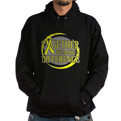 Sarcoma Cancer Support Hoodie (dark)
