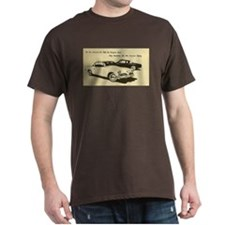 Two '53 Studebakers on T-Shirt