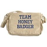 Team Honey Badger Messenger Bag