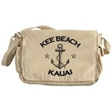 Kee Beach, Kauai, Hawaii Messenger Bag