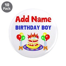 """PERSONALIZE THIS 3.5"""" Button (10 pack)"""