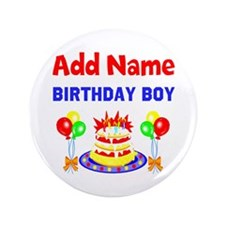 "PERSONALIZE THIS 3.5"" Button (100 pack)"