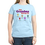 Personalized Grandma 5 kids T-Shirt