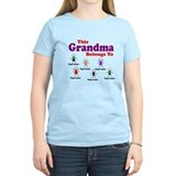 Personalized Grandma 6 kids T-Shirt