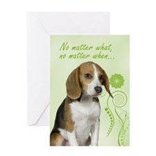 Beagle Love/Support Card