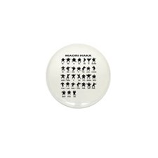 Maori Haka Mini Button (10 pack)