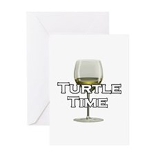Turtle Time Greeting Card