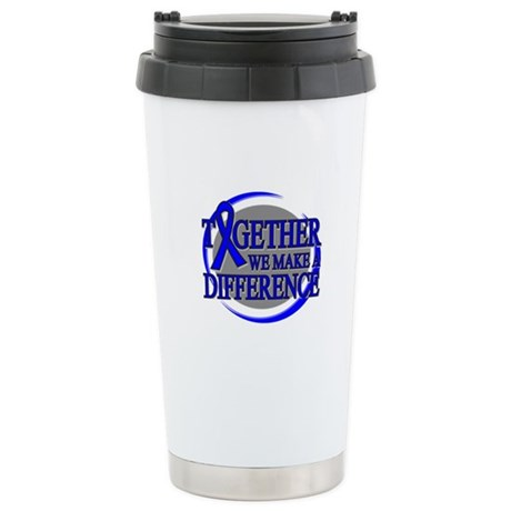 Rectal Cancer Support Ceramic Travel Mug