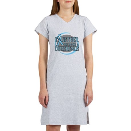 Prostate Cancer Support Women's Nightshirt