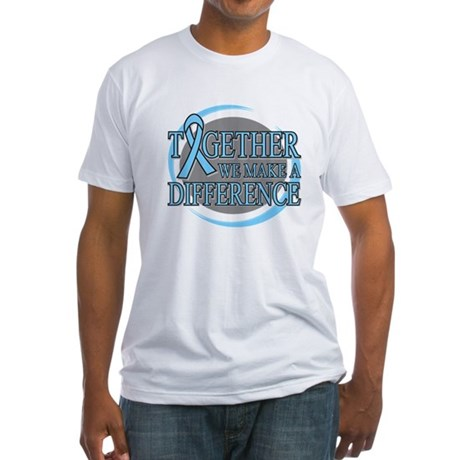 Prostate Cancer Support Fitted T-Shirt