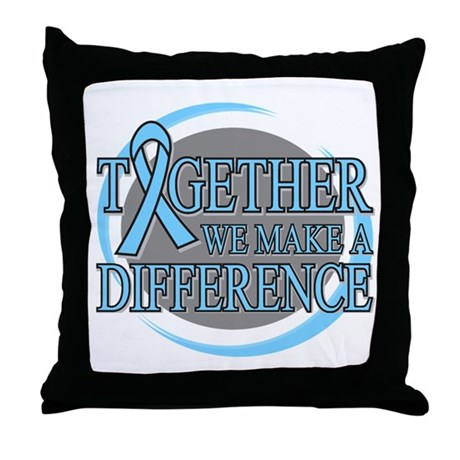 Prostate Cancer Support Throw Pillow