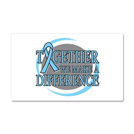 Prostate Cancer Support Car Magnet 20 x 12